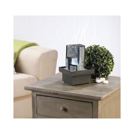 fontaine lumineuse d 39 int rieur d corative chute d 39 eau. Black Bedroom Furniture Sets. Home Design Ideas