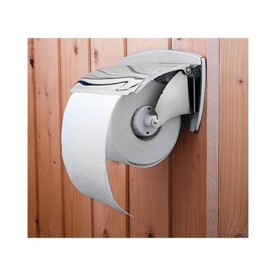 Support blagueur pour papier toilette avec Interrupteur marche/arrêt, touche d'enregistrement et micro