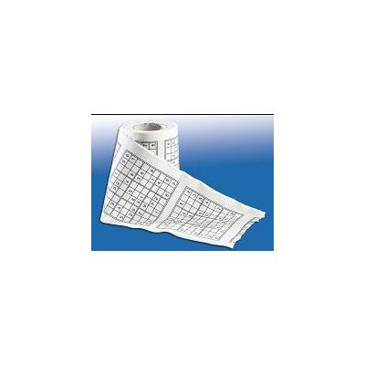 Papier toilette avec Sudoku imprimé