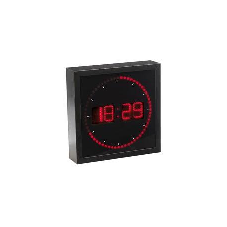 horloge murale avec d compteur des secondes sportive. Black Bedroom Furniture Sets. Home Design Ideas