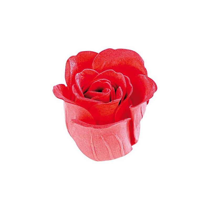 Coffret en forme de coeur avec 6 savons p tale de rose - Petale de rose bain ...