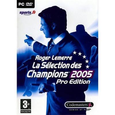 Roger Lemerre La sélection des Champions 2005 - Jeux PC de sports