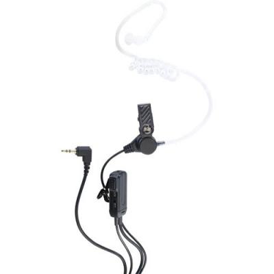 Oreillette discrète pour Talkie Walkie avec microphone intégré