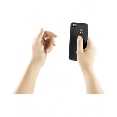 Coque pour iPhone 5 / 5S / 5C avec allume cigare