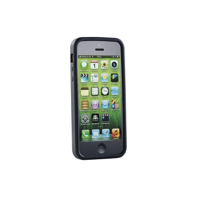 iphone 5 coque silicone noir