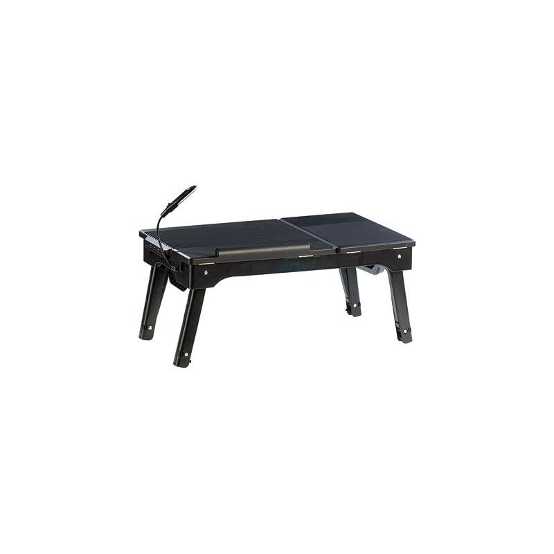 mini table de travail avec hub usb et pieds r glables. Black Bedroom Furniture Sets. Home Design Ideas