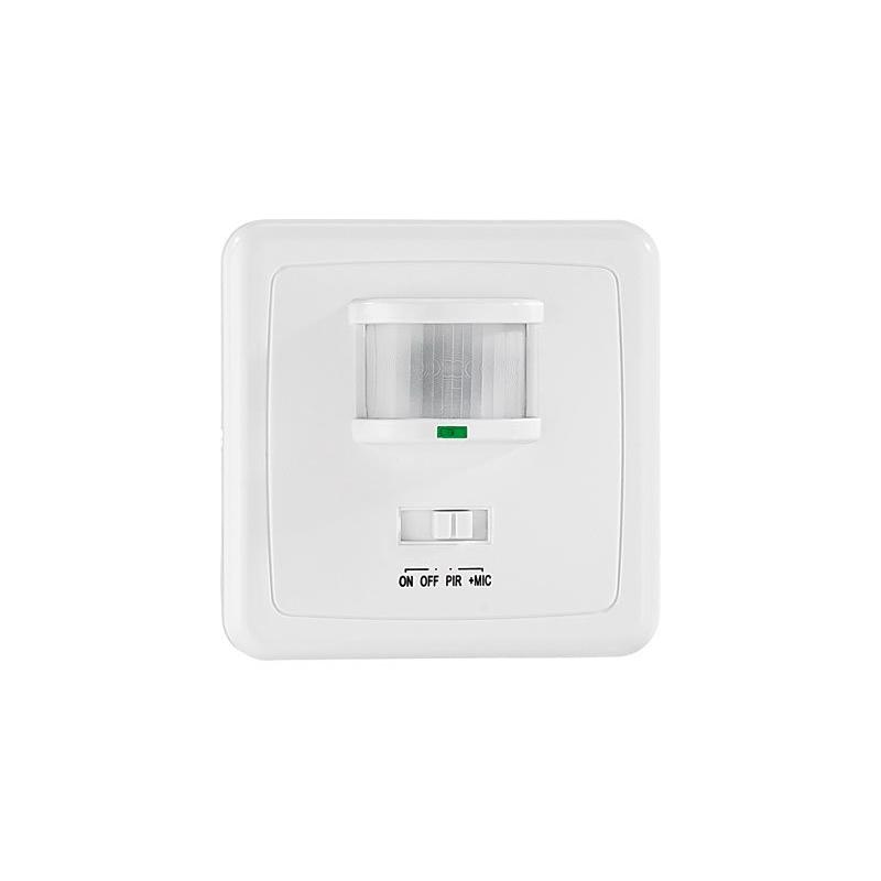 interrupteur avec d tecteur de mouvement capteur acoustique. Black Bedroom Furniture Sets. Home Design Ideas