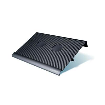 Support avec 2 ventilateurs pour ordinateur portable - Marque Akasa
