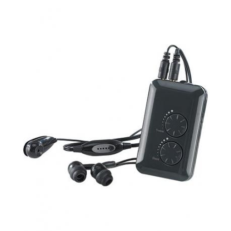 amplificateur de son avec microphone directionnel externe. Black Bedroom Furniture Sets. Home Design Ideas