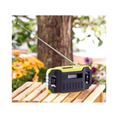 Radio portable avec alimentation solaire ou dynamo