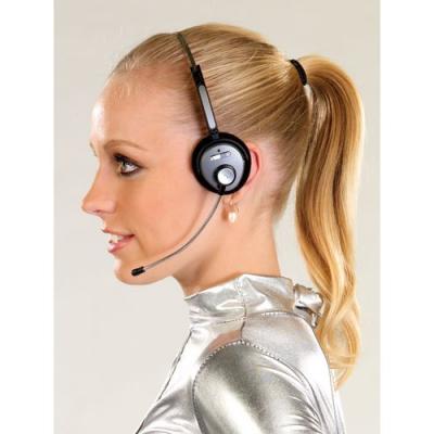 Micro-casque sans fil Bluetooth avec micro incurvée (Dongle)