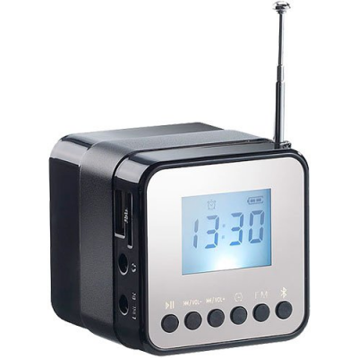 Mini radio MP3 Bluetooth autonome 3W