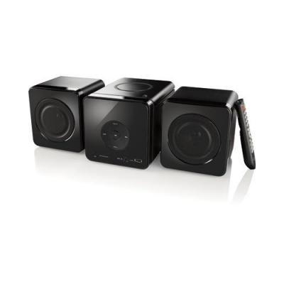 Microchaîne Hifi avec lecteur CD/ RW + lecteur multimédia USB/AUX
