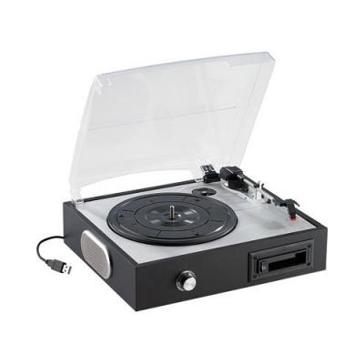 Numériseur de vinyles - Tourne-disque (33, 45, 78 tours) et de cassettes audio vers USB