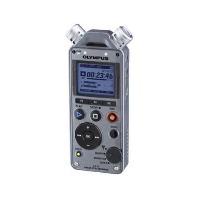 Dictaphone numérique - mémoire 2Go extensible avec carte SD + emplacement trépied - Marque Olympus