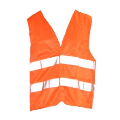 Gilet orange réfléchissant de sécurité