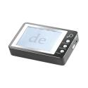 Loupe numérique avec zoom x 7 et LED intégré