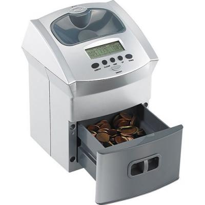 Compteuse de pièces fonctionnant à piles