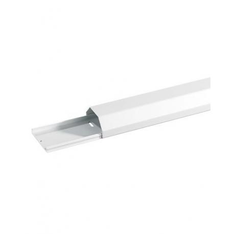 Goulotte pour câbles en aluminium mat