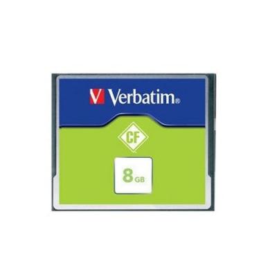 Carte Mémoire Compact Flash - 8 Go - Verbatim