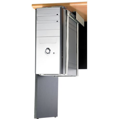 Bo tier pc gamer avec ventilation silencieuse compatible avec le watercooling noir bleut - Support unite centrale sous bureau ...