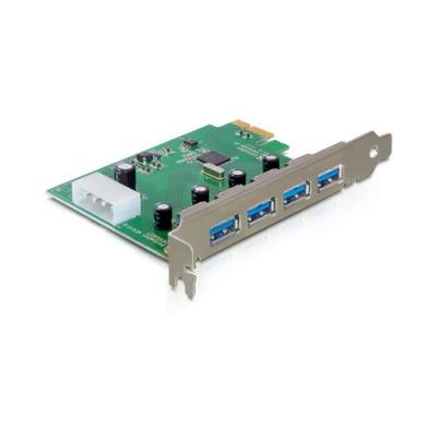 Fa ade pc 2 ports usb 3 0 pour baie 3 5 39 39 delock n 20150 - Carte controleur pci express 4 ports usb 3 0 ...