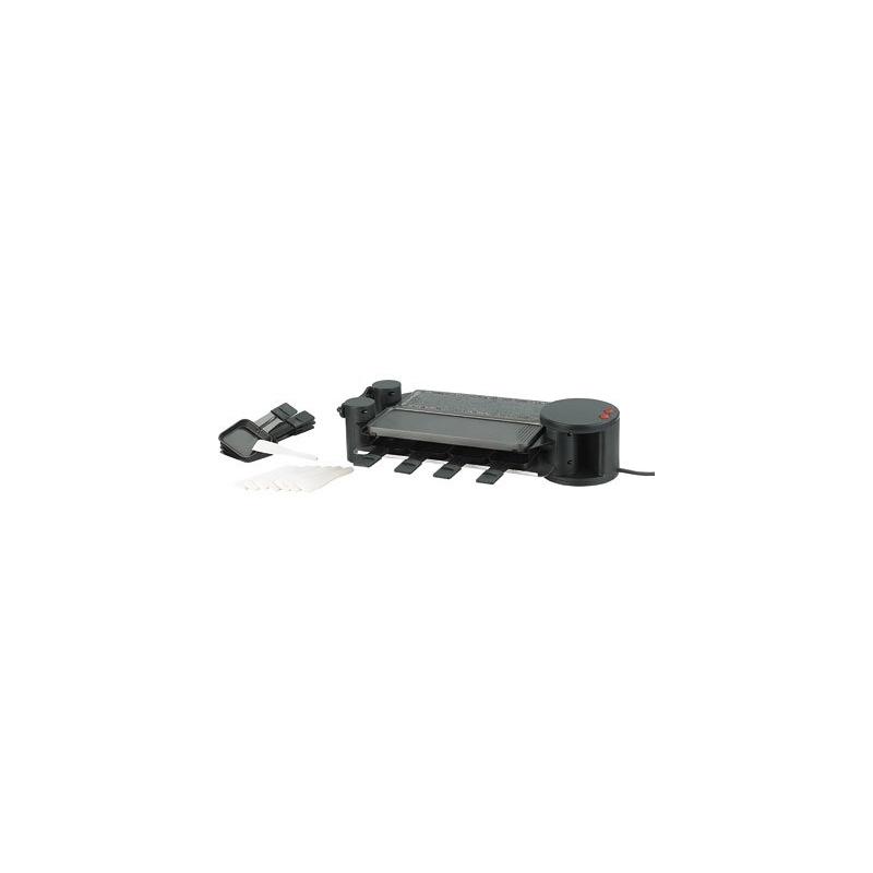 appareil raclette d pliable de 2 8 personnes raclette party facile nettoyer. Black Bedroom Furniture Sets. Home Design Ideas
