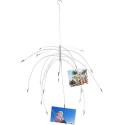 Porte-photo suspendu style araignée