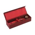 Coffret Rose Éternelle dans son écrin d'or 24 carats pour cadeau inoubliable