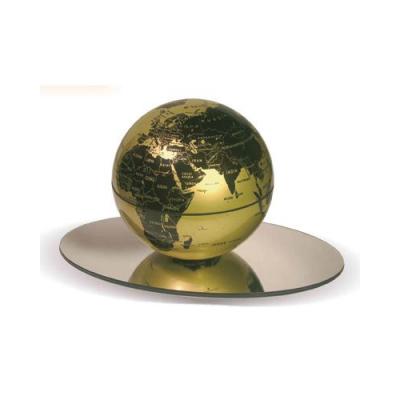 Globe rotatif permanent pour décoration bureau