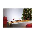Chemin de table festif à 20 LED - doré pour décoration table