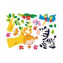 Autocollants - Stickers muraux pour enfants - Madagascar