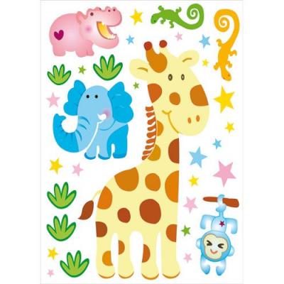 Autocollants - Stickers muraux pour chambre enfants - Kenya