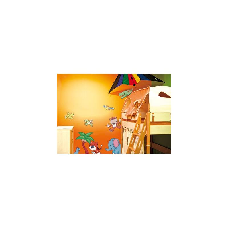Autocollants stickers muraux pour chambre enfants indon sie - Stickers muraux chambre enfant ...
