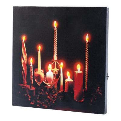 Tableau à LED Romantique Moments - avec télécommande éclaire vos soirées