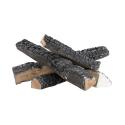 4 reproductions de bûches type cheminée pour poêle au bioéthanol