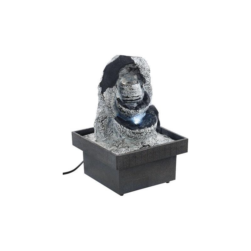 Fontaine lumineuse d 39 int rieur d corative chute d 39 eau d for Statue decorative d interieur