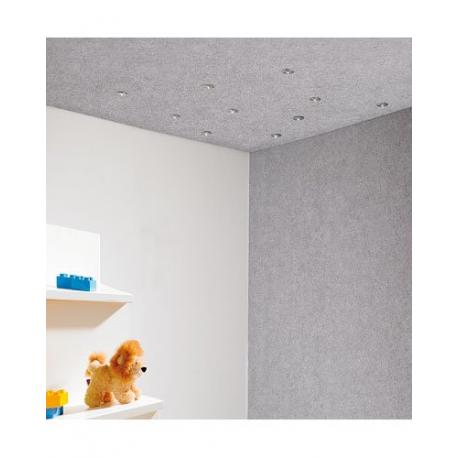 plafond 10 led effet ciel toil. Black Bedroom Furniture Sets. Home Design Ideas