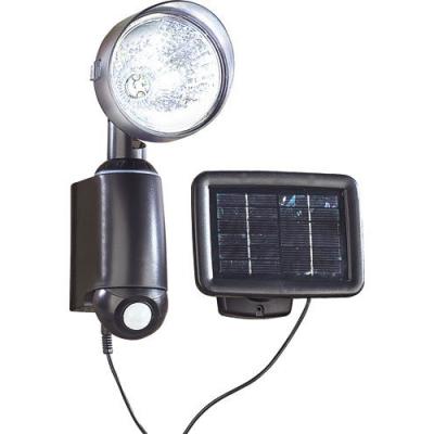 Détecteur de mouvement - Lampe solaire murale