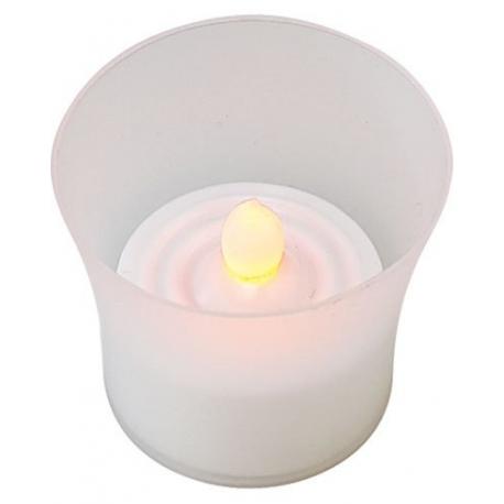 8 Bougies photophores à LED pour ambiance magique et romantique