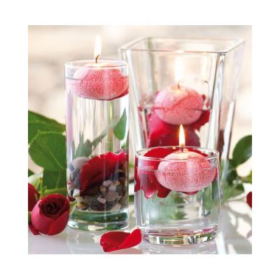 10 Bougies flottantes parfumées à la rose