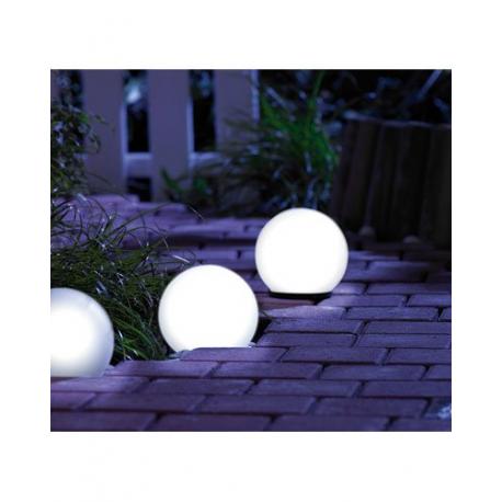boule lumineuse d 39 ext rieur pour jardin ou terrasse de 16. Black Bedroom Furniture Sets. Home Design Ideas