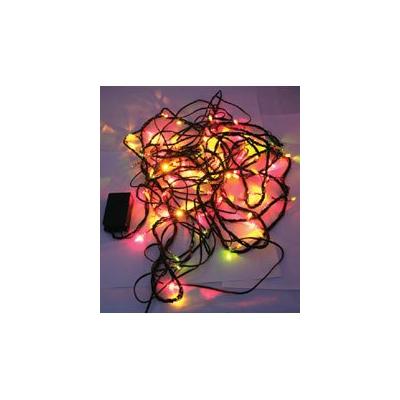 Guirlande d'ampoules 100 LED colorées - Longueur 10 m