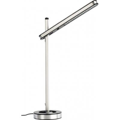 Lampe de bureau en aluminium complétement réglable avec 48 LED
