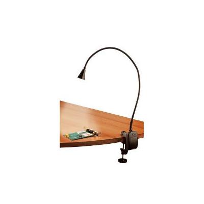 Lampe de bureau avec fixation au bord de la table avec 5 LED hyper lumineuses
