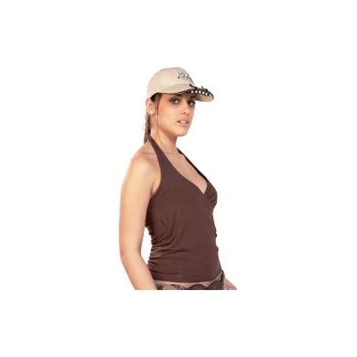 Fixation pour 5 LED blanches sur casquette ou visière