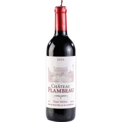 Bougie en forme de grande bouteille de vin - St Valentin