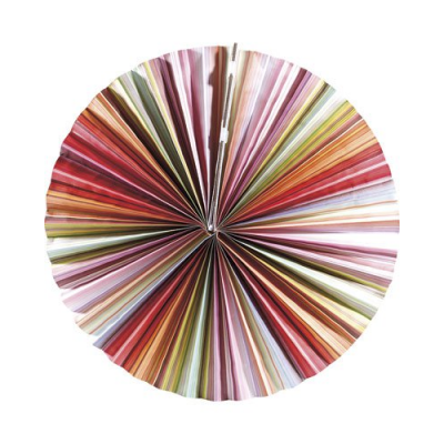 Lampe en papier parasol - Multicolore