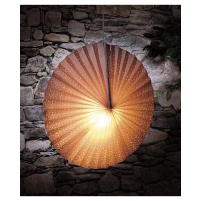 Lampe en papier parasol - Blanc