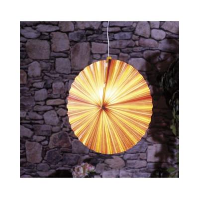Lampe en papier parasol - Jaune orangé